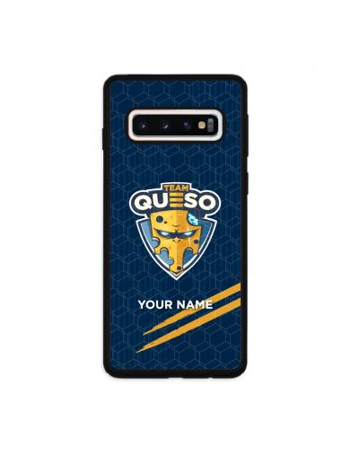 Funda móvil Logo Azul + Nombre